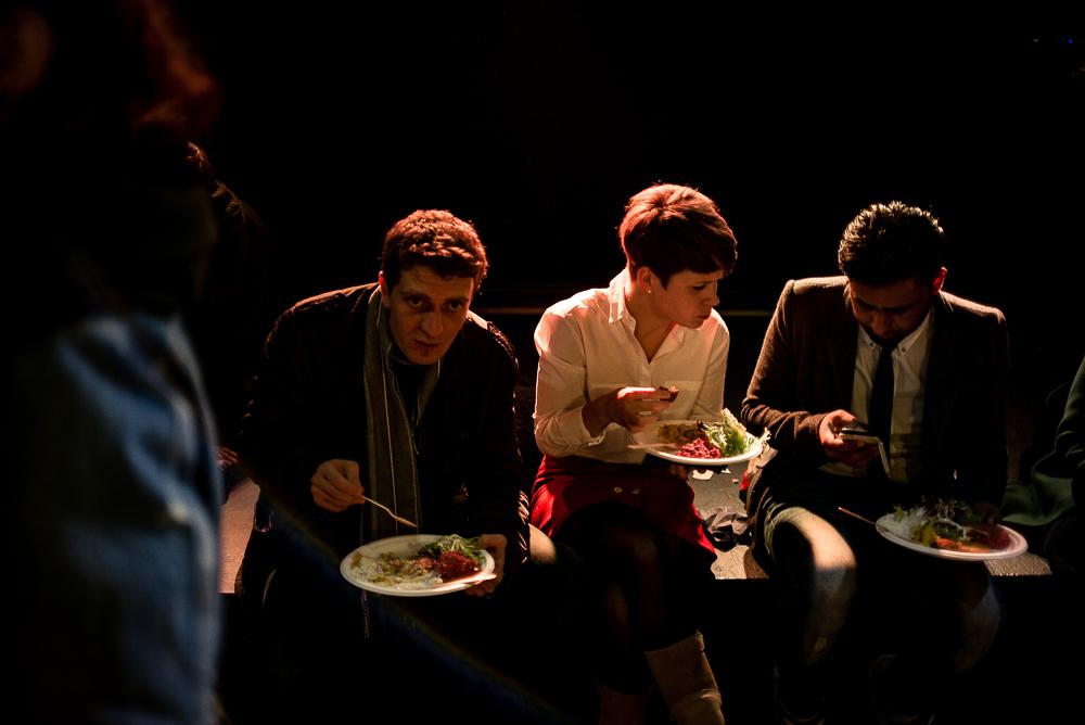 (PLAY)ing   dinner   photo: © Dirk Mevis
