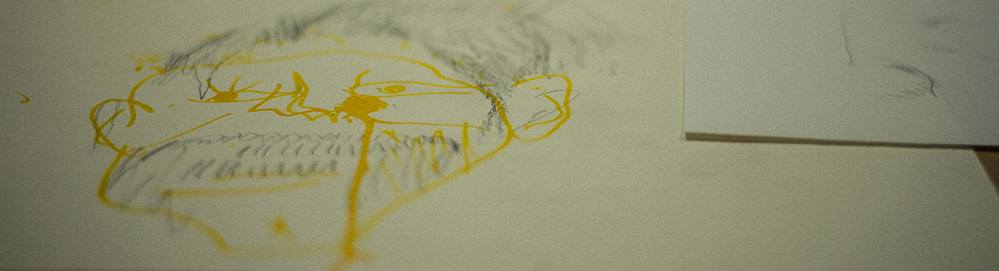Failing | Daisy Billowes - Blind drawing workshop